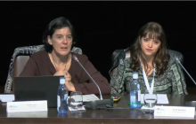 Pilar Soret (ILUNION) y  Silvia Martínez (Universidad de Granada)