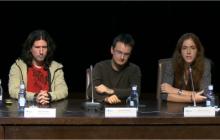 Juan G. Victores (UC3M), Bartek Lukawski (UC3M) y Jennifer J. Gago (UC3M)