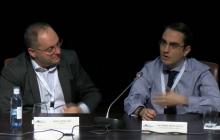 Carlos Castellano (Park4Dis) y Yod Samuel Martín (UPM)