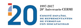 Logo Cermi 20 aniversario